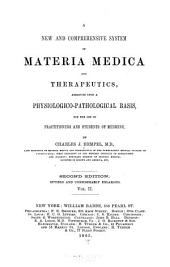A New and comprehensive system of materia medica and therapeutics: Volume 2