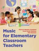 Music for Elementary Classroom Teachers Book