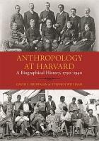 Anthropology at Harvard PDF