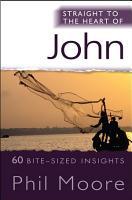 Straight to the Heart of John PDF