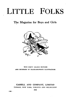 Cassell s Little Folks PDF