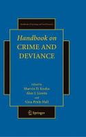 Handbook on Crime and Deviance PDF