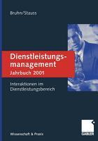 Dienstleistungsmanagement Jahrbuch 2001 PDF