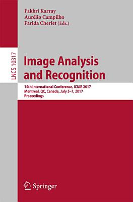 Image Analysis and Recognition PDF