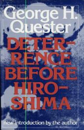 Deterrence Before Hiroshima: The Airpower Background of Modern Strategy