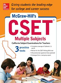 McGraw Hill s CSET Multiple Subjects Book