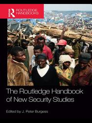 Handbook of New Security Studies PDF