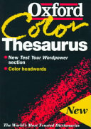 The Oxford Color Thesaurus PDF