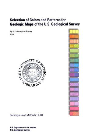 Selection of Colors and Patterns for Geologic Maps of the U S  Geological Survey PDF