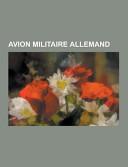 Avion Militaire Allemand