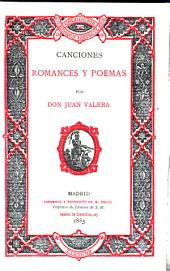 Canciones, romances y poemas