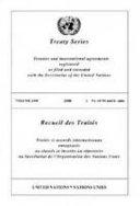 Treaty Series 2498 2007 I PDF
