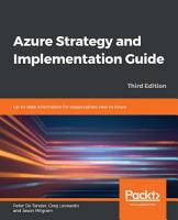 Azure Strategy and Implementation Guide PDF