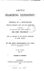 Arctic Searching Expedition:: A Journal of a Boat-voyage...
