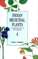 Indian Medicinal Plants PDF