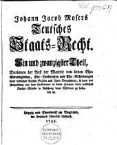 Teutsches Staats-Recht: Band 10