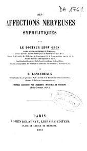 Des affections nerveuses syphilitiques