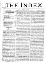 The Index ...: A Weekly Paper, Volume 6; Volume 17