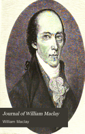 Journal of William Maclay: United States Senator from Pennsylvania, 1789-1791
