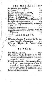 Journal Etranger: Ouvrage Periodique. Janvier 1757, Numéro1