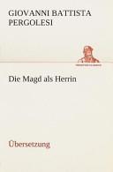 Die Magd Als Herrin PDF