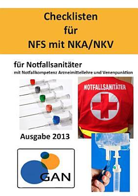 Checklisten f  r NFS mit NKA NKV PDF