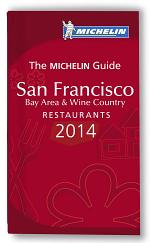 MICHELIN Guide San Francisco Bay Area & Wine Country 2014