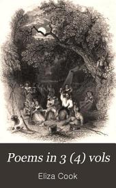 Poems in 3 (4) Vols: Volume 1