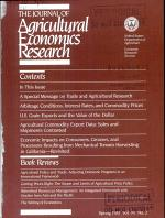 Journal of Agricultural Economics Research