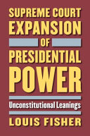 Supreme Court Expansion of Presidential Power PDF