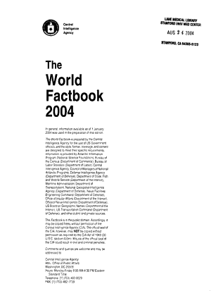 The World factbook 1995 PDF