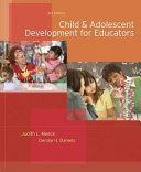Child and Adolescent Development for Educators PDF