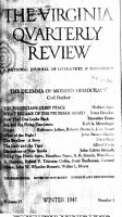 Virginia Quarterly Review  1941 PDF