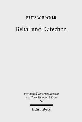 Belial und Katechon PDF