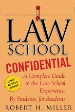 Law School Confidential PDF