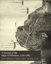 A Journal of the Siege of Gibraltar, 1779-1783