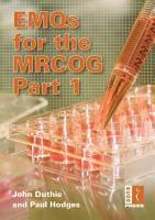 EMQs for the MRCOG PDF