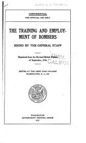 The Training and Employment of Bombers