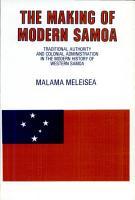 The Making of Modern Samoa PDF