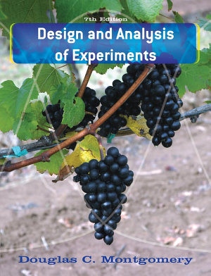 Design and Analysis of Experiments PDF