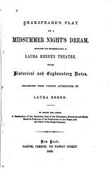 Shakespeare s Play of a Midsummer Nights Dream PDF