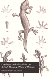 Catalogue of the Lizards in the British Museum  Natural History  PDF