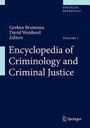 Encyclopedia of Criminology and Criminal Justice PDF