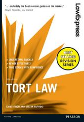 Law Express: Tort Law: Edition 6