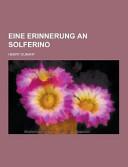 Eine Erinnerung an Solferino PDF