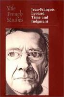 Jean Fran  ois Lyotard PDF