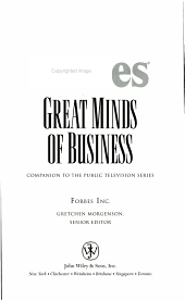 Forbes Great Minds of Business PDF