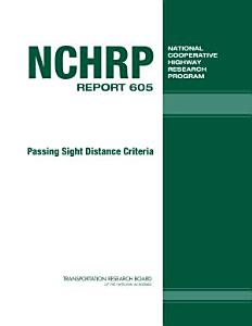 Passing Sight Distance Criteria Book