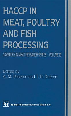 HACCP in Meat  Poultry  and Fish Processing PDF