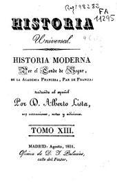 Historia moderna: Volumen 13
